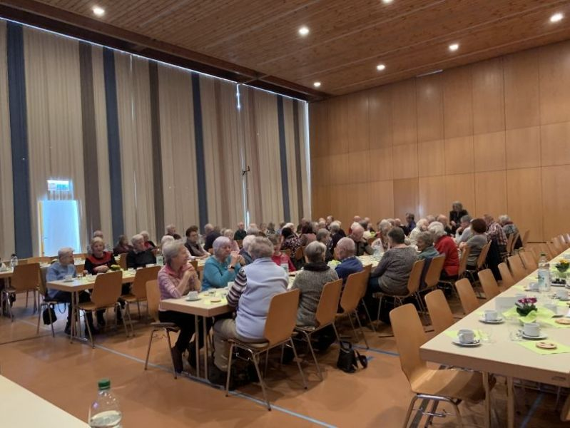 Grosses Interesse am Osteo-Vortrag in Wiesendangen